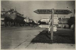 Указатель, Барановичи, 1943
