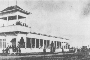 Трибуна ипподрома, Барановичи / Tor Wyscigowy Baranowicze Trybuna