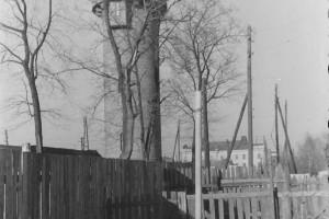 Водонапорная башня, Барановичи, 1957