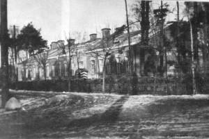 Baranowicze. Budynek Nowogrodzkiej Brygady Kawalerii / Барановичи. Здание Новогрудской бригады кавалерии