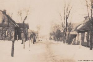 Neissener/Glogauer Straße 1918 Baranowitschi / Зеленая улица / Глогауэр Барановичи