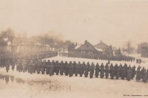 Parade Baranowitschi 1918 / Парад Барановичи 1918