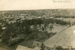 Барановичи, общий вид. 1918
