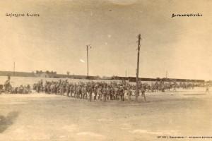 Пленные русские солдаты Барановичи