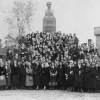 Общество семей военнослужащих у памятника Буолю