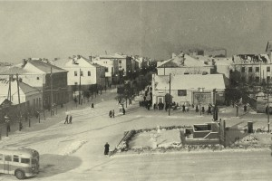 Барановичи, Площадь Сталина, 1952