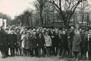 Димитрова улица, Бульвар Хейнола, Барановичи, 1964