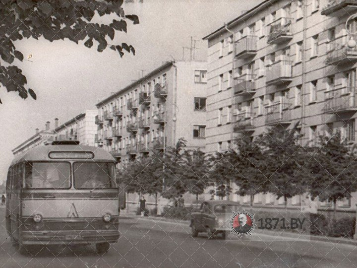 Барановичи, Ленина улица, 1965