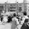 Площадь Ленина. 1 мая 1966, Барановичи