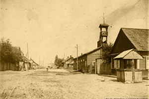 Барановичи, Пожарная каланча, 1917