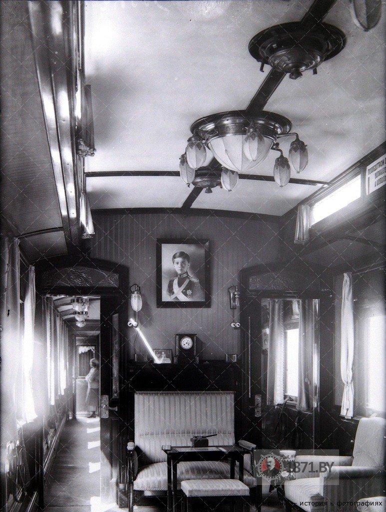 Салон Императорского поезда. Из блога Елены Хорватовой