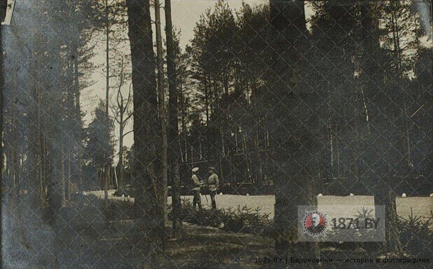 Николай 2 у поезда в Ставке