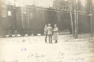 Поезд Николая 2, Барановичи, 1914