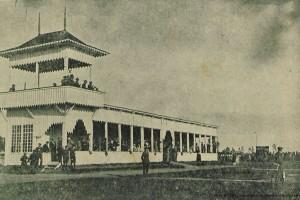 Ипподром, трибуна. Барановичи, 1923