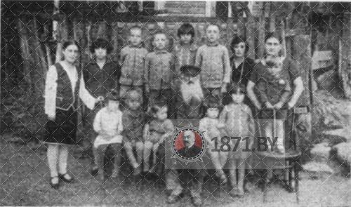 Мельница в Молчади. Фото начала ХХ века, Моше-Аарон и внуки