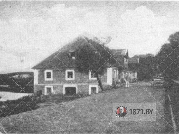Мельница в Молчади. Фото начала ХХ века