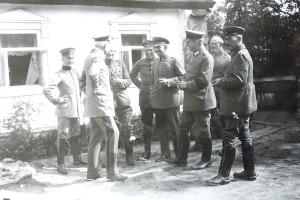 Штаб 201 пехотной дивизии
