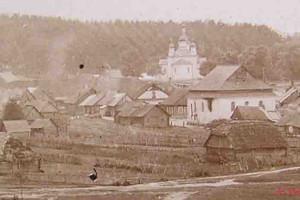 Общий вид на деревню начала ХХ века