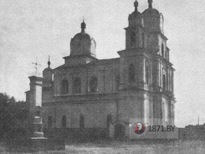 Свято-Успенская церковь в деревне Столовичи
