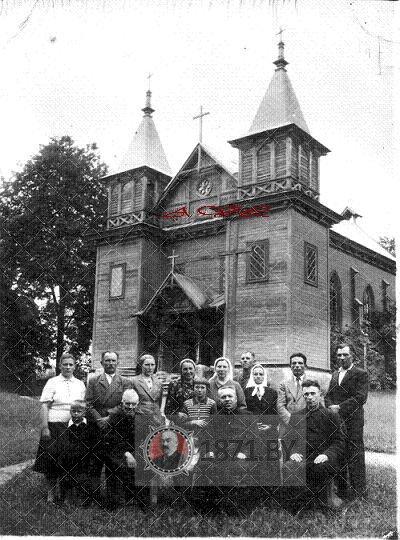Юрьевский костел в Полонечке