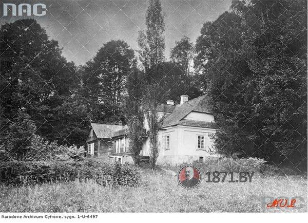 Усадьба Тугановичи на фото 1910-1915 годов