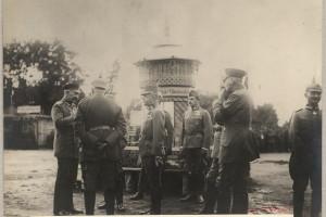 Кайзер Вильгельм 2 в Барановичах