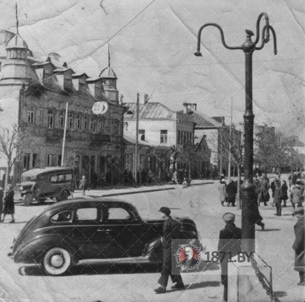 Улица Советская весной
