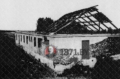 Здание тюрьмы Колдычевского лагеря смерти