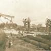 Разрушенная лесопилка и мост Эйфеля