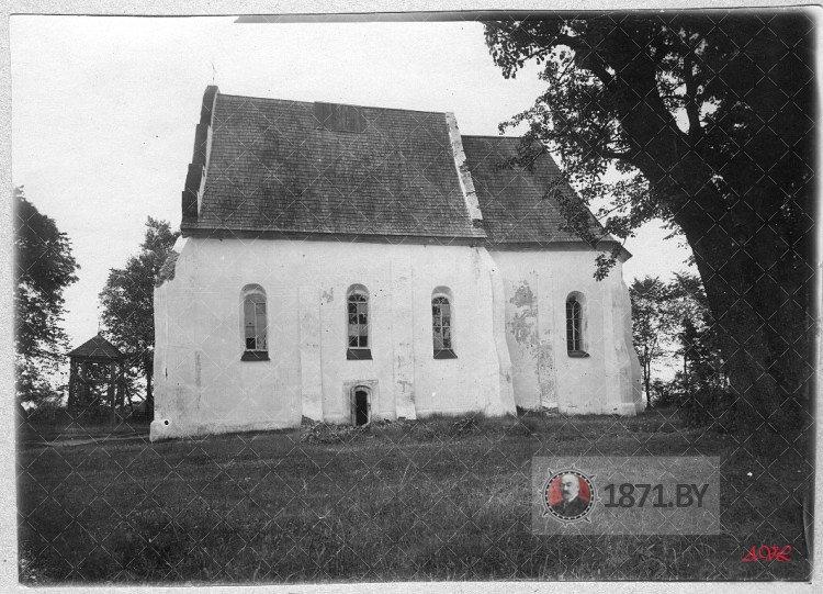 Троицкий костел в Ишколди 1920 год (2 фото)