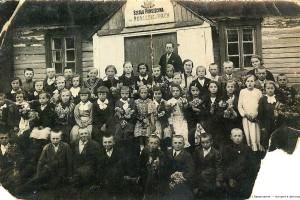 Польская школа в Подлесейках, 1935
