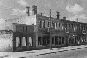 Советская улица, 1944 год