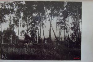 Немецкое кладбище у Колдычевского озера. Август 1917 года