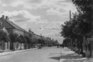 Барановичи, ВОВ, Марынская улица