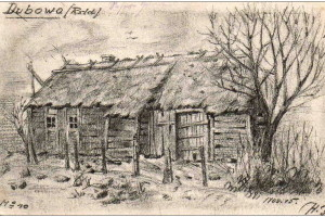 Дубово. Немецкая зарисовка 1915 года