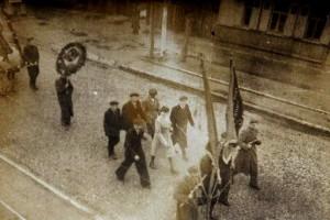 Первомайская демонстрация, 1947 год