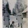 Немецкое фото на лагерной улице 1916 г.