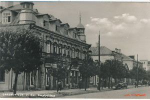 Улица Шептыцкого на открытке 1939 года