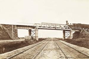Железнодорожный мост, Барановичи-Белосток, 1892