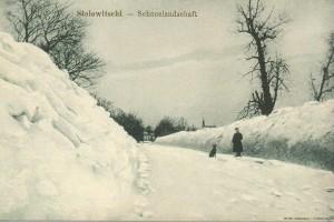 Stolowitschi. Schneelandschaft / Столовичи. Снежный ландшафт