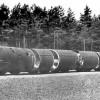 Уничтожение ракет Р-12 в д. Лесная 1990 г.