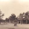 Обыденный день в военном городке на немецком фото 1917 года