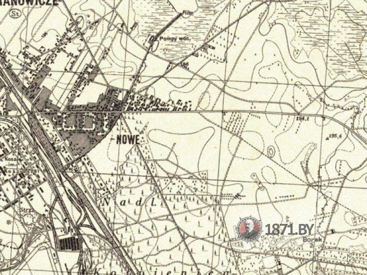 Польская карта, Военного географического института, 1938