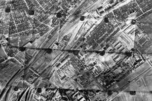 Аэрофотосъемка Барановичей от 1975 года