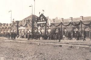 Полесский вокзал, встреча президента