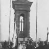 Часовня в память о погибших повстанцах в Миловидской битве 1863 года.