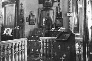 Походная церковь, Ставка, Барановичи 1915