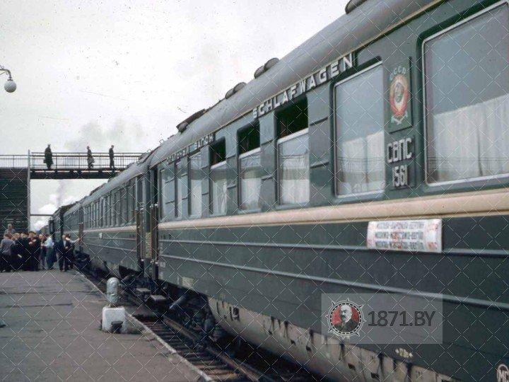 1961 Baronovichi station, Belarus