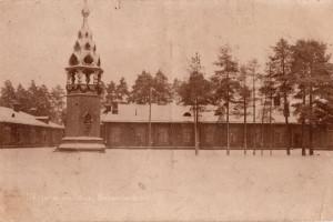 Барановичи, Часовня на плацу железнодорожной бригады