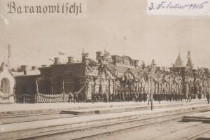 Полесский вокзал, встреча Николая 2